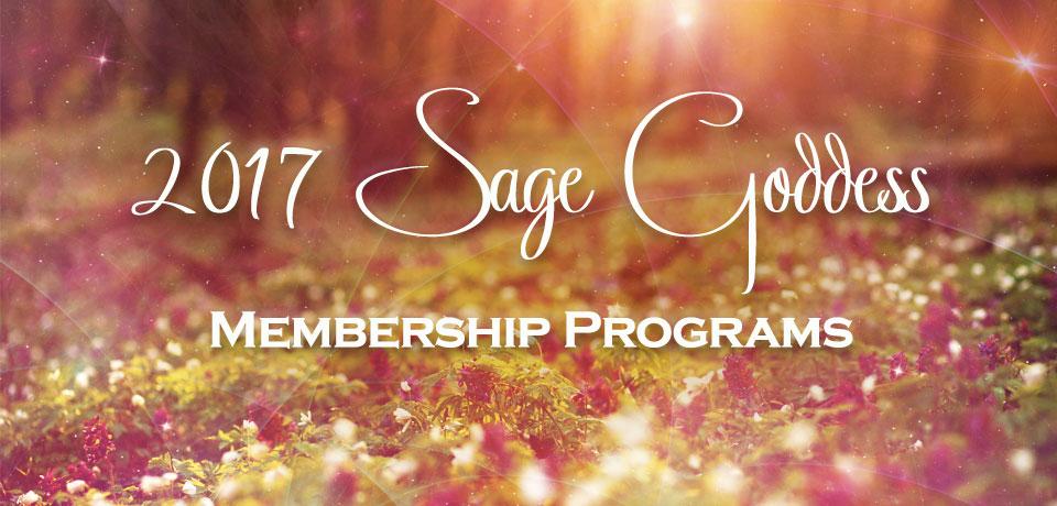 2017 Sage Goddess Programs